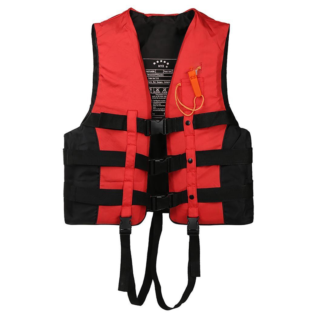 Einstellbar Reflective Schwimmweste Rettungsweste Boots Erwachsene Life Jacket