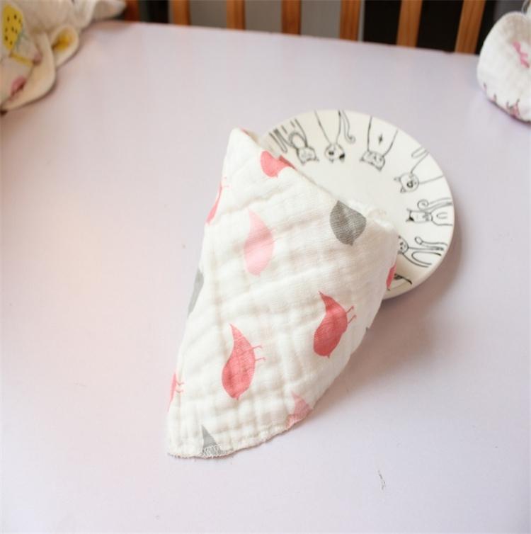31 Estilo Gratis Elija Nuevo babero de alta calidad para bebés baberos / Toalla Saliva Bebé Niños Infantes 8 capas de gasa Burp Cloths AA19123