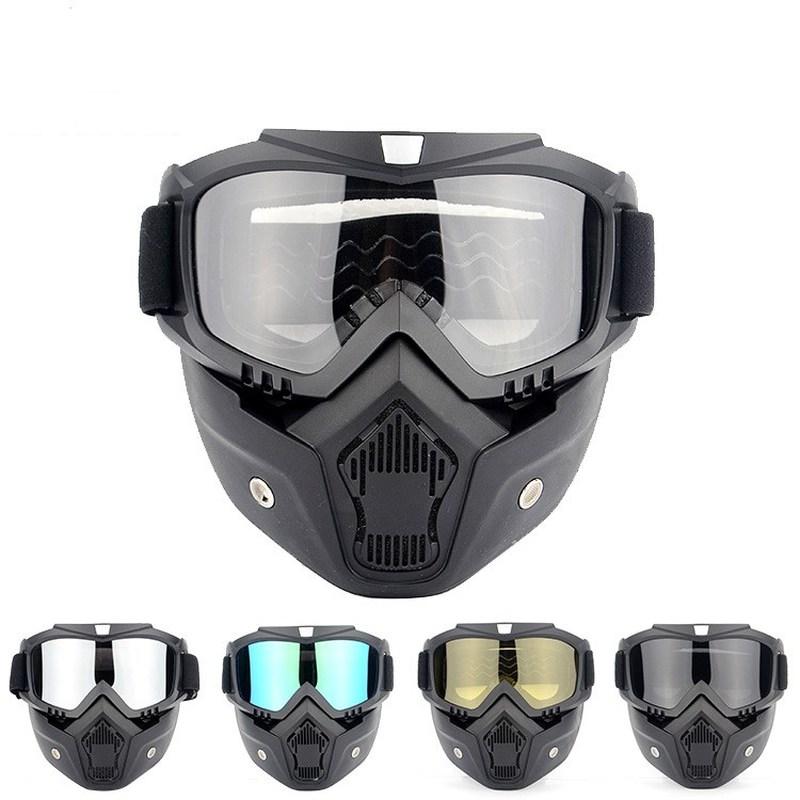 Winter Sports Snow Ski Mask Mountain Downhill Skiing Snowboarding Glasses