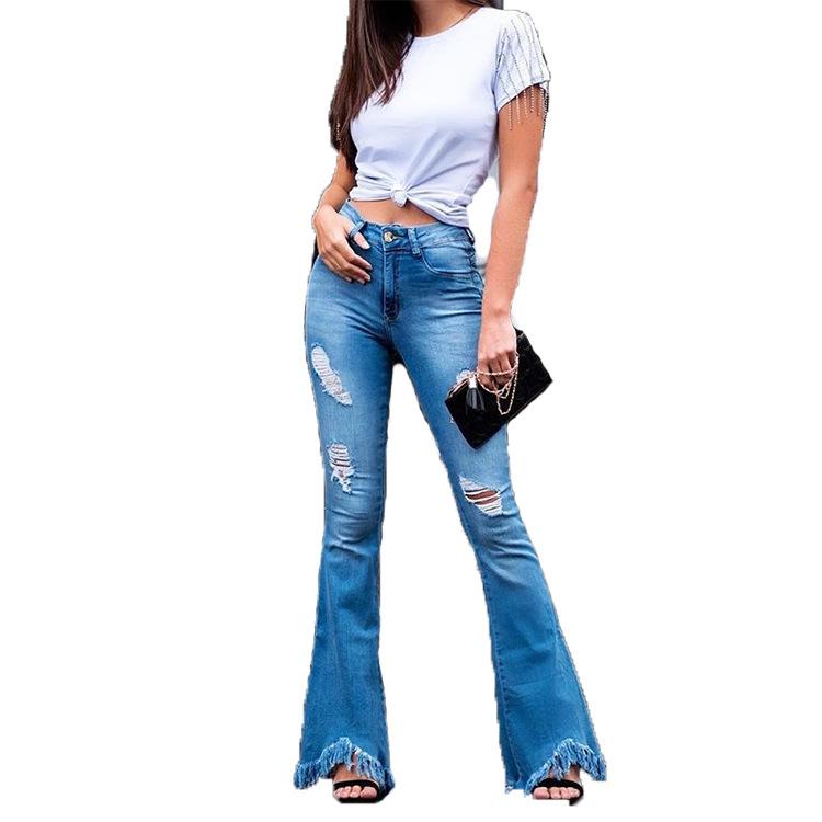 Plus Size Womens Wide Leg High Waist Stretchy Slim Pants Ladies Skinny Trousers