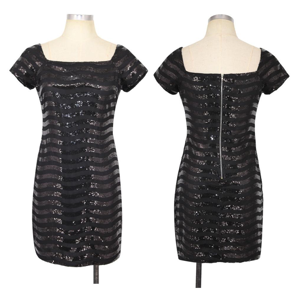 black sequin dress 2193 (3)