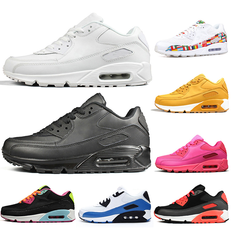 nike air max 90 leather scarpe da ginnastica uomo bianco