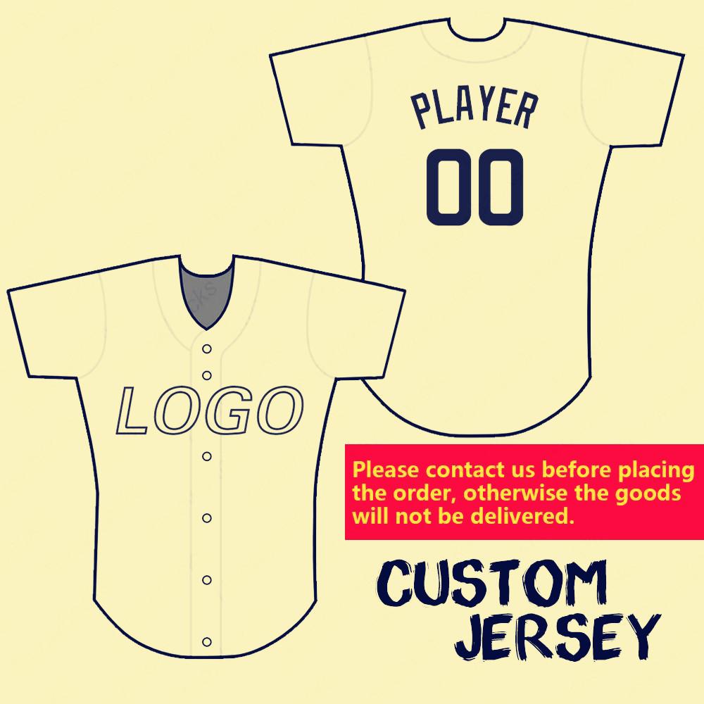 Personnalis/é Baseball Jersey Homme Femme Enfant Maillot de Baseball T-Shirt de Baseball Maillot Chemise de Sport pour L/équipe de Baseball Jersey Manches Courtes Shirt personnalis/é Nom et num/éro