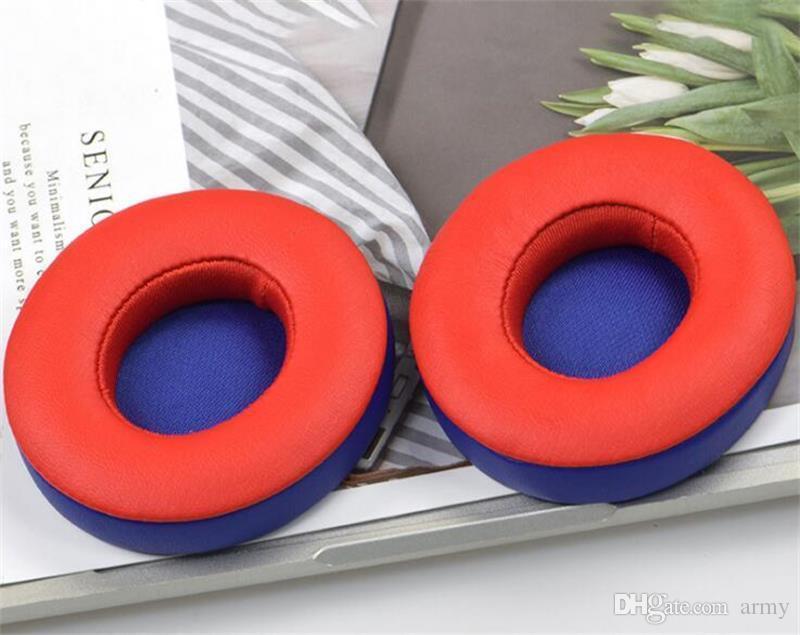Niza Auriculares Pop Auriculares Reemplazo Ear Pads Almohadillas Cojines Cubierta Para Sol 2.0 3.0 Auriculares Inalámbricos