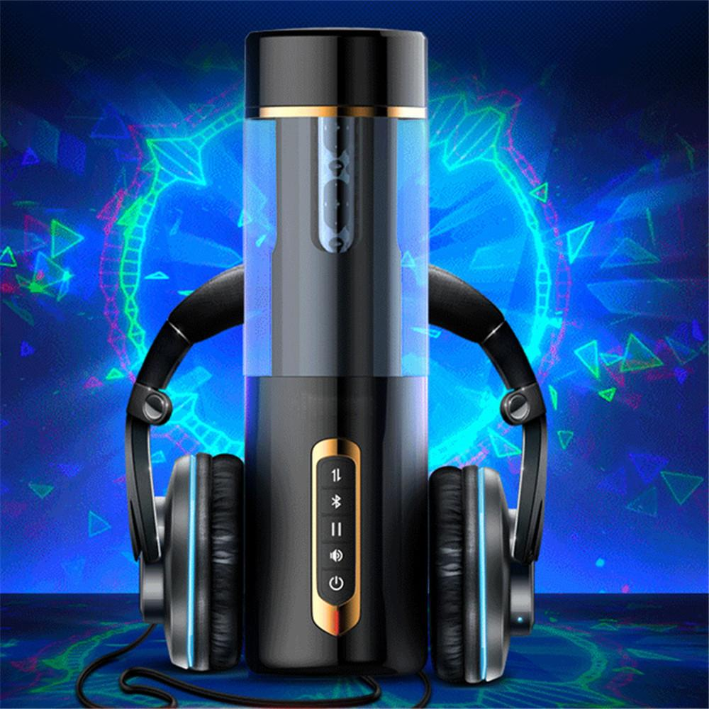 Automatic Telescopic Masturbation Cup Vibrator For Men Real Rotaion Vagina Pussy Oral Sucking Sex Machine Adult Sex Toys For Man (12)