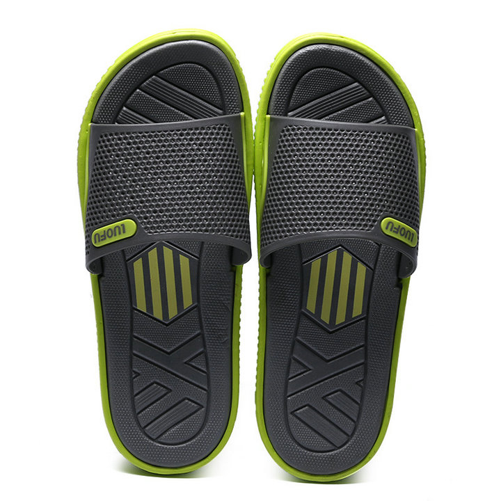 Fashion New Design Anti Slip Adult Men Shoes Sport Slide Slippers Outdoor Indoor Beach Slippers For Man (3)