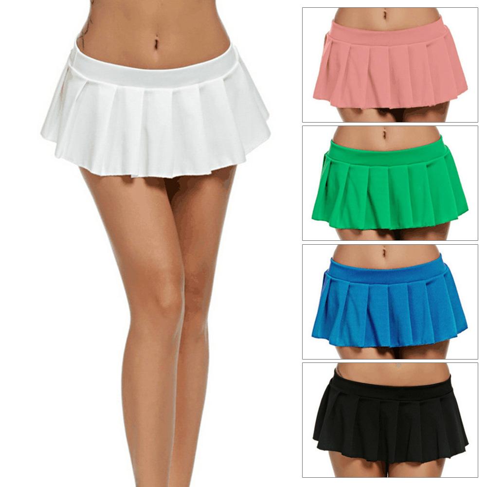 Da Uomo Sissy Gonna Donna Scuola Ragazza Costume Gonna a pieghe breve mini vestito gonne