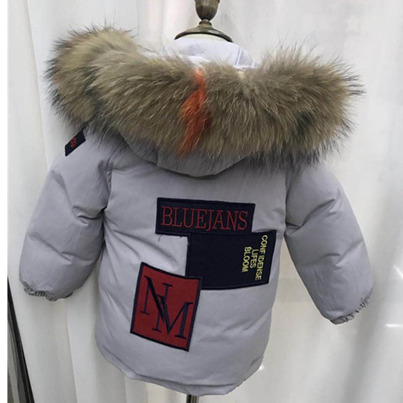 Büyük Kızlar coat Noel çocuklar coat 2019 Kış moda Uzun Kollu sıcak ceket kız bebek giysileri aşağı ceket hoodie bebek giysileri 15