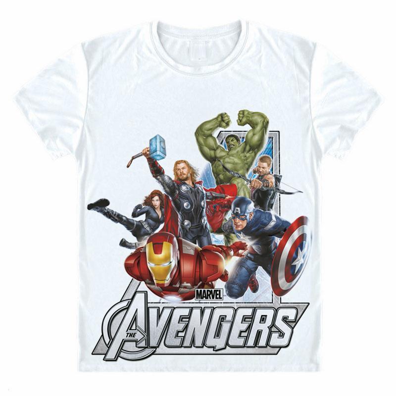 Marvel Juniors Captain S.H.I.E.L.D Agents T-Shirt