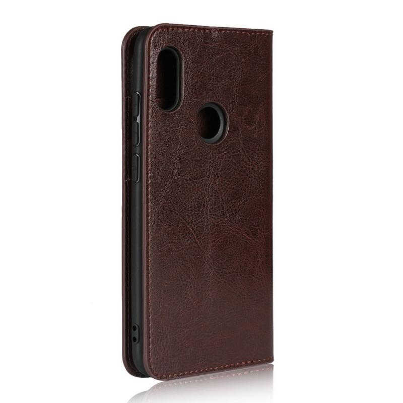 Custodia Xiaomi Mi Note 10 / 10 Pro Portacarte Vera Pelle Qin Nillkin Marrone