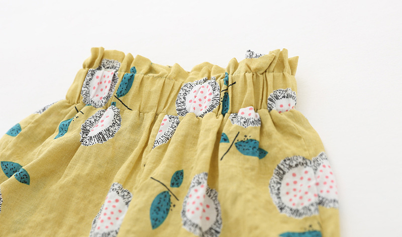 Girls Pants Baby Girl Harem Pants Casual Summer Kids Children Boys Air-conditioner Pants Infant Toddler Trousers Linen Trousers