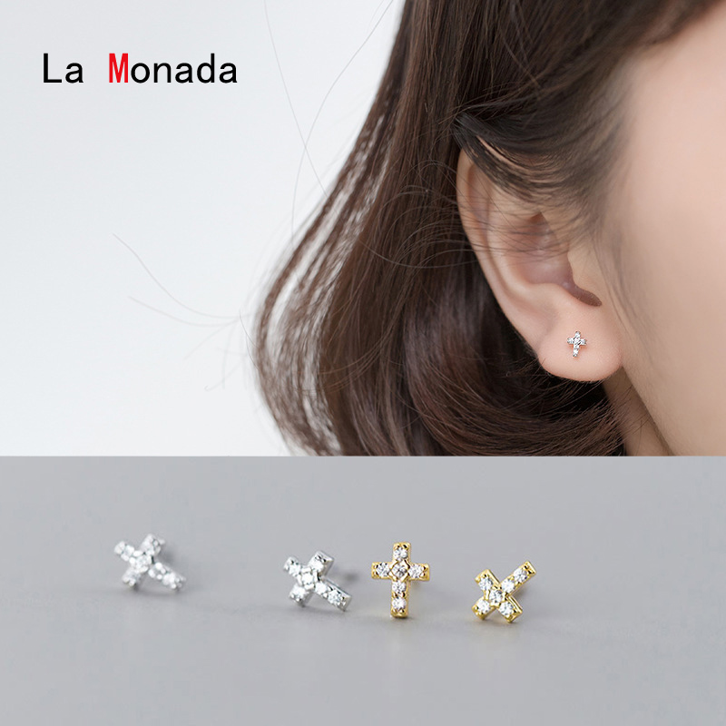 Pure 100/% Sterling Silver Knotted Earrings Classic Twisted Small Stud Earring Cute Minimalist Fine Jewelry Gift Yme359