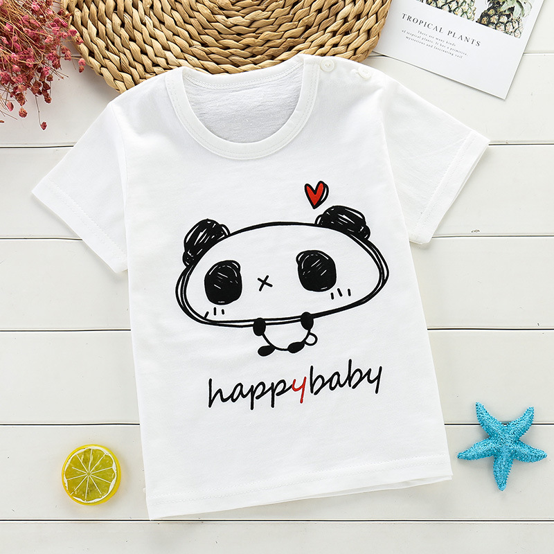 Panda Spit Rainbow Youth//Kids Casual T-Shirt 3D Print Short Sleeve