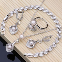 Horn-Bridal-Jewelry-Sets-Pink-Pearls-Bead-925-Silver-Jewelry-For-Women-Earrings-With-Stone-Pendantce.jpg_200x200