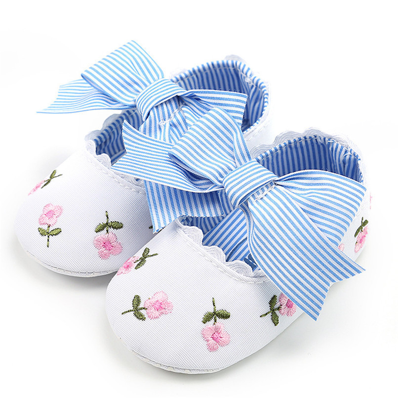 3 Color Baby Girl Shoes Toddler Kids Fashion Embroidery Flower Butterfly-knot First Walkers Kids Shoes NDA84L23 (18)