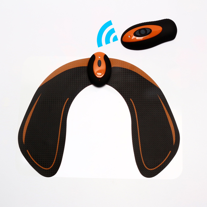 2019 New Eautiful Buttocks Stickers Wireless Remote Control Home Beauty Instrument EMS Smart Hip Stickers Silicone + PU Material