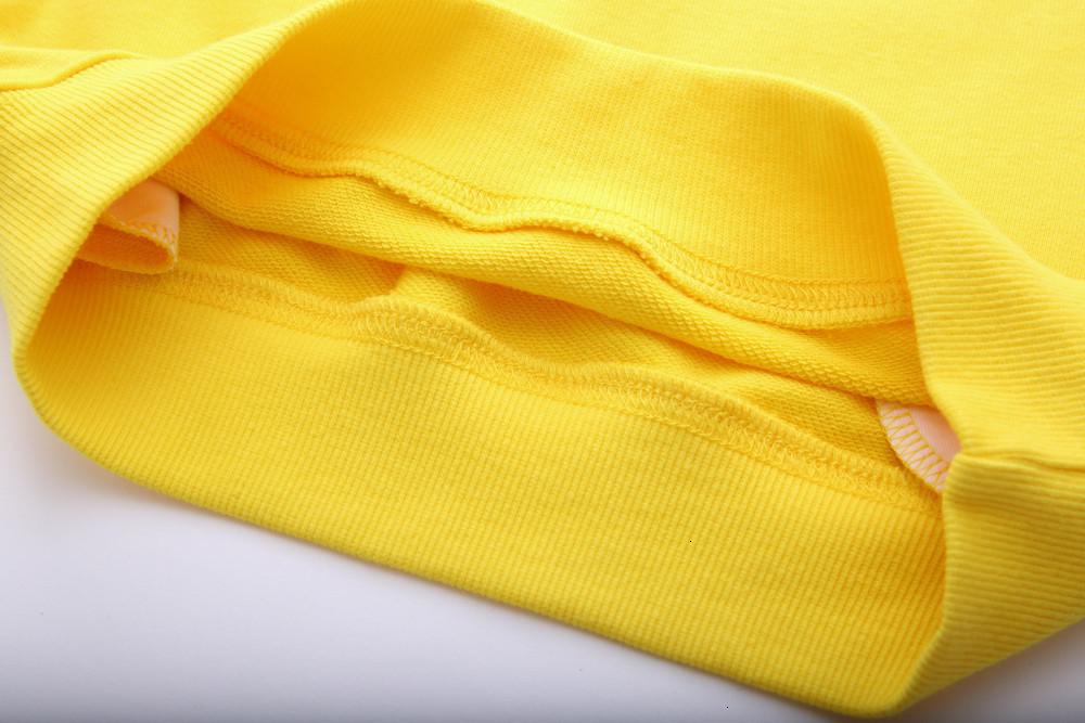 Толстовки Дети 2019 Корейский девочка мультфильм Свободное время Даже Полуночное Детские одежды цвета 12128