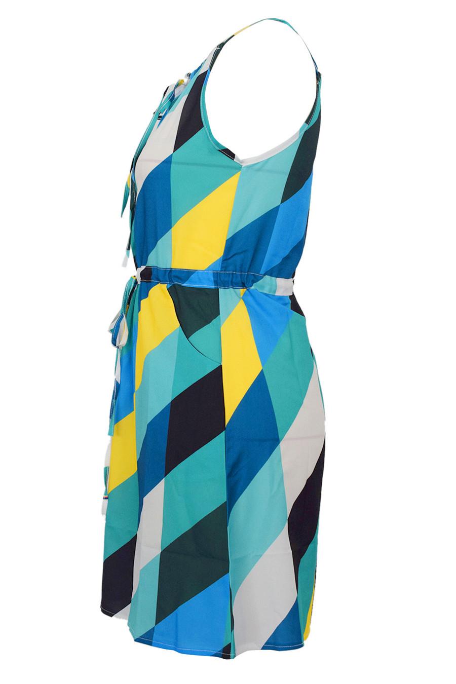 Gladiolus Chiffon Women Summer Dress Spaghetti Strap Floral Print Pocket Sexy Bohemian Beach Dress 2019 Short Ladies Dresses (21)