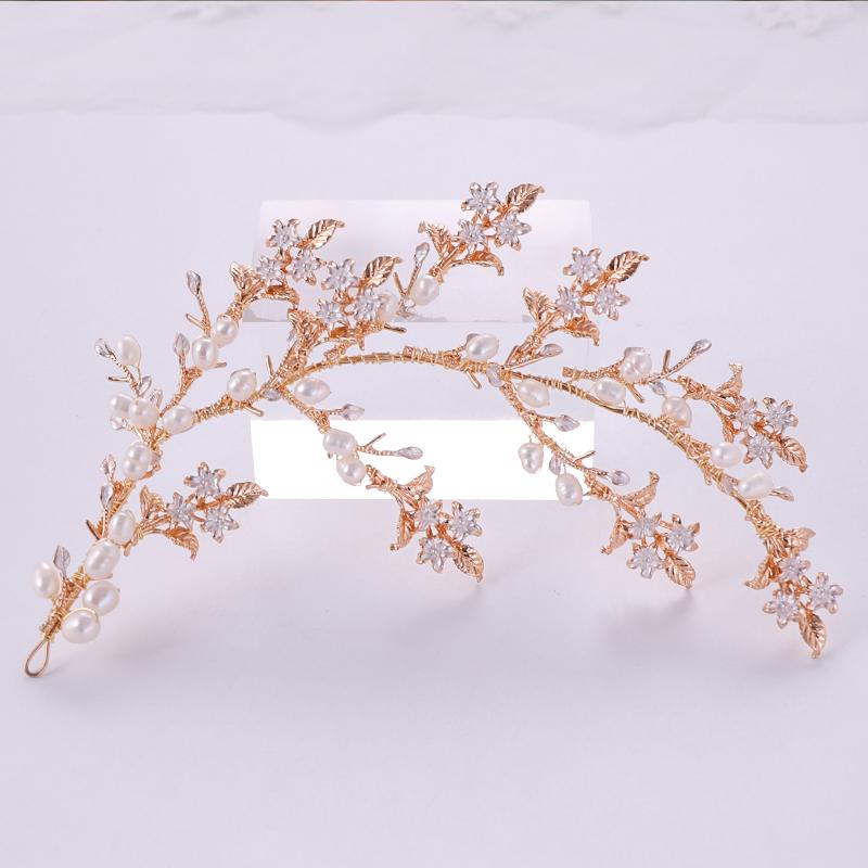 Gold Color Headbands (2)