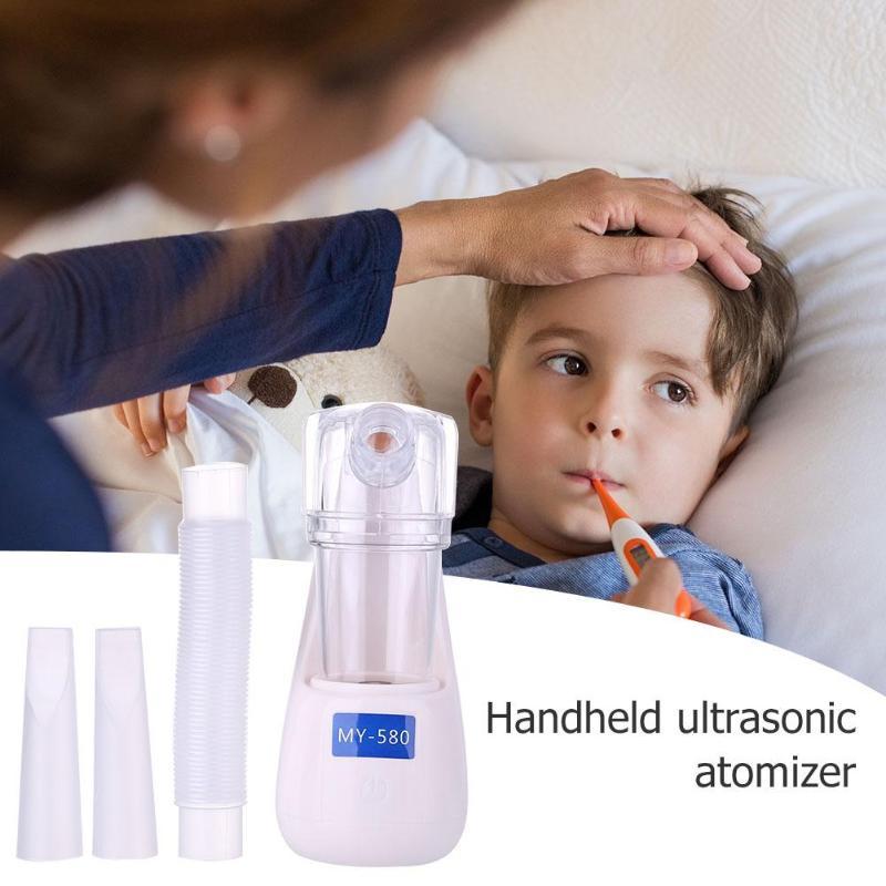Portátil portátil de mano nebulizador ultrasónico inhalador para asma mini atomizador humidificador kit de cuidado de la salud de los niños máquina de inhalación de piel de cara