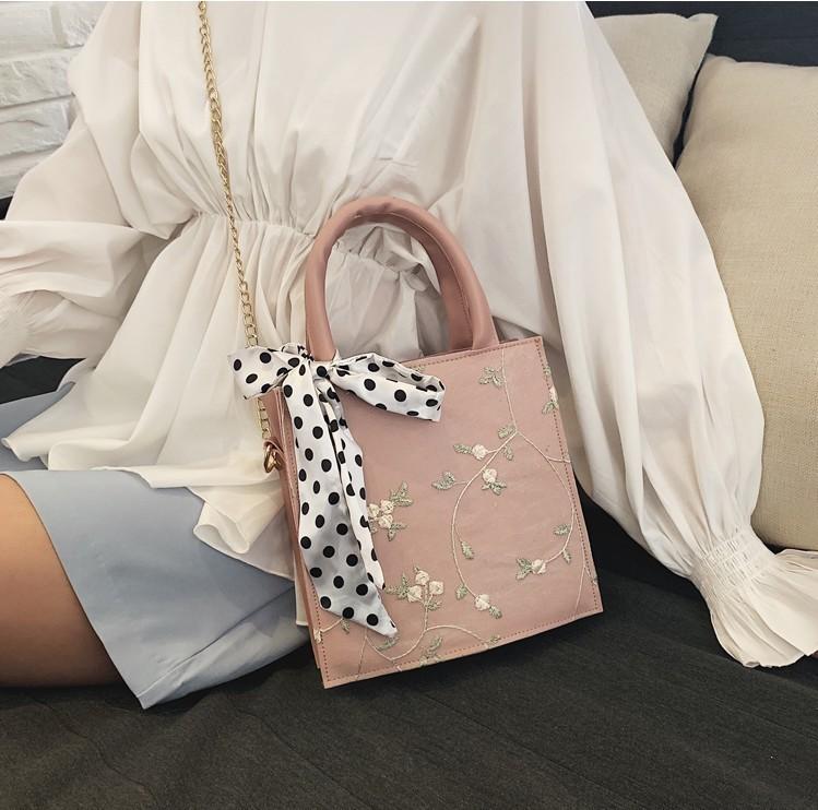 Frauen-Weinlese-ethnische Gestickte Handtaschen-Luxusspitze-Segeltuchtasche