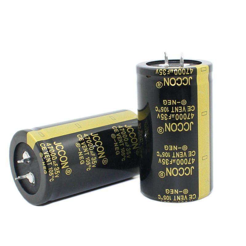 US SELLER 10pcs 4700uf 50v 85c Samhwa Electrolytic Filter Capacitors 25x35 NOS
