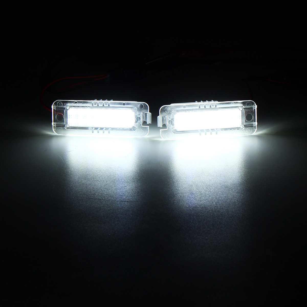 Ошибка Canbus LED Номерной знак подсветки номерного знака для VW Polo Scirocco Passat CC для VW Golf GTI R R32 Mk4 Mk5 Mk6 Mk7 1997-2018