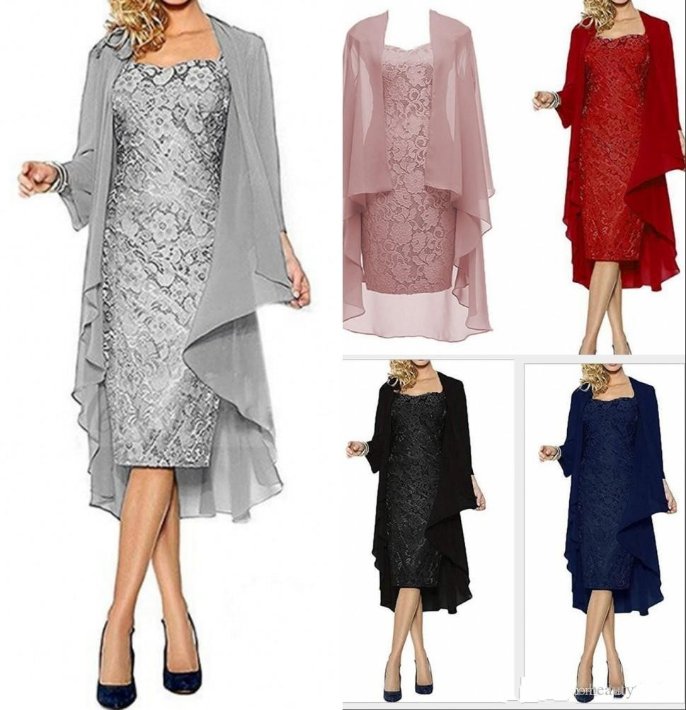 mother of the bride dresses with jackets summer