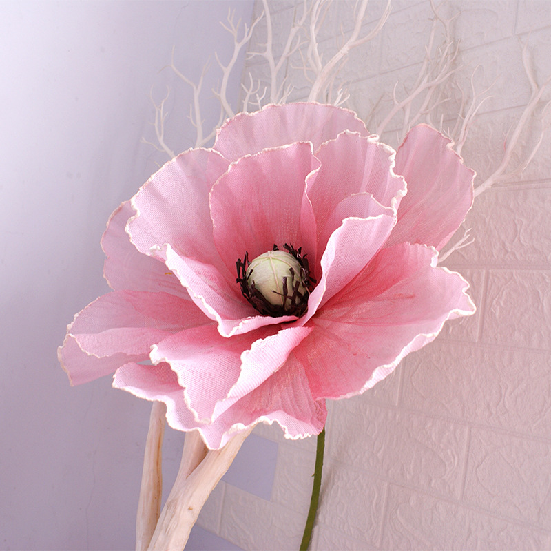 Wholesale Pink Poppies Flowers Buy Cheap In Bulk From China