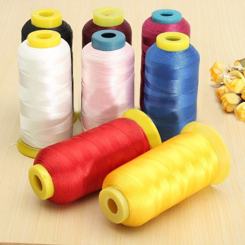 Blue-Green 1300 m approx Sew//Bead//Crafts Quality Nylon Silk Thread Spool