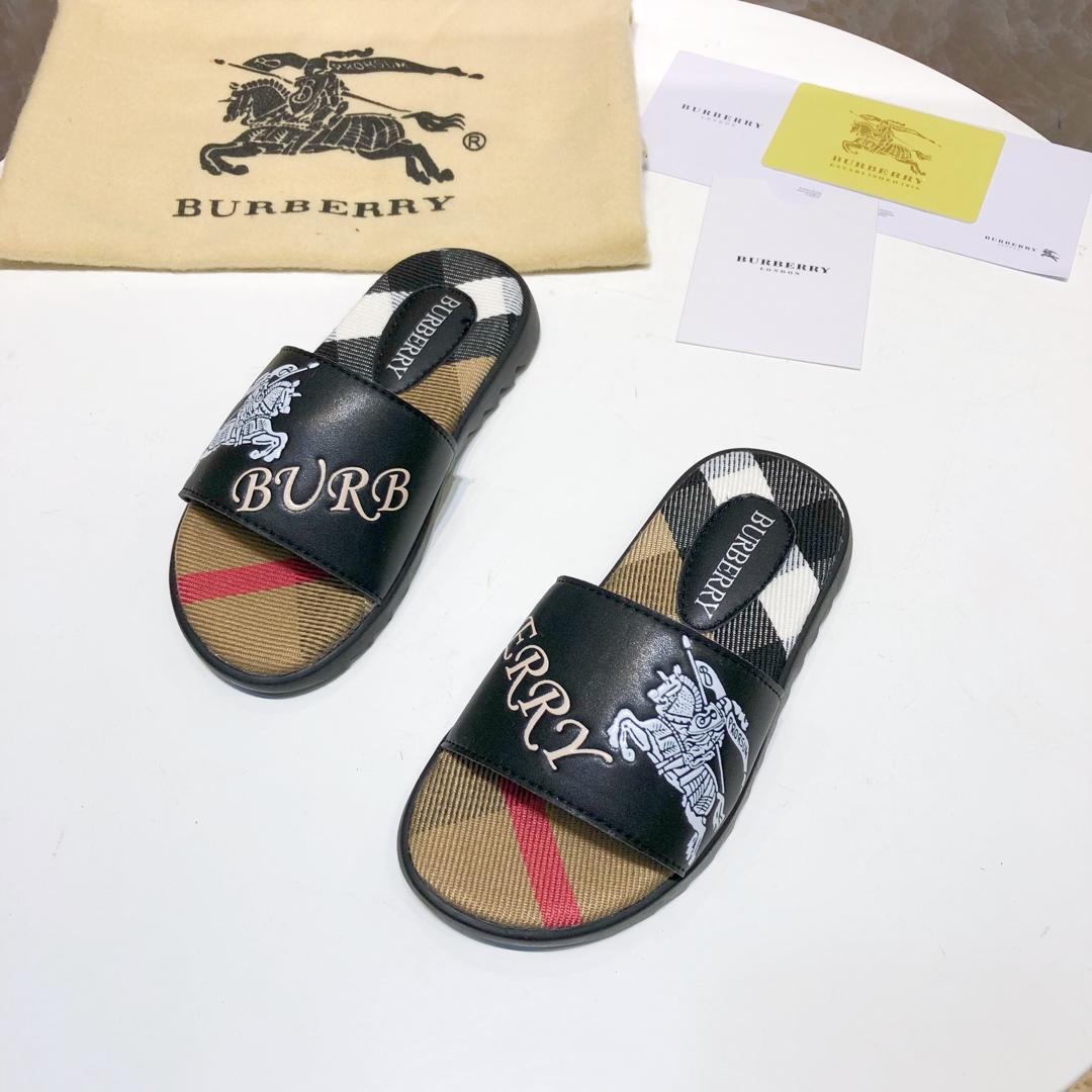 Enfants Pantoufles Marque Enfants Maison Pantoufles Européen Et Américain Style Impression De Mode Été À Semelle Plate Pantoufles En Plein Air Sandale N-Y1