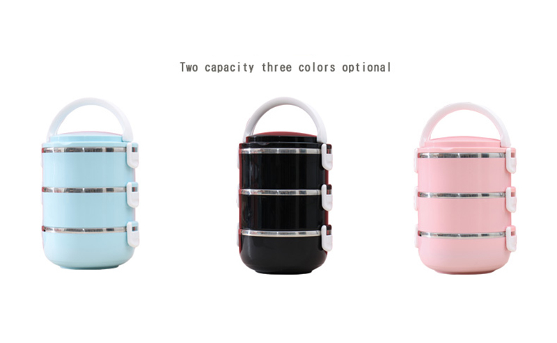 304 stainless steel multi-layer insulated lunch box 32