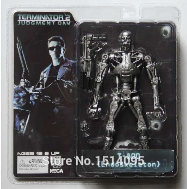 Neca O Exterminador do Futuro 2 Action Figure T-800 / T-1000 Pvc Action Figure Toy Modelo Toy 7 Tipos de 18 cm Y190604