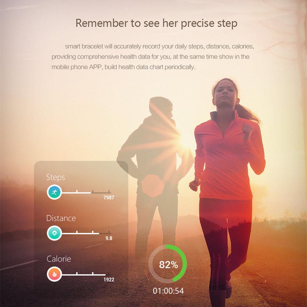 smart watch wristband health heart rate xiaomi mi band 3 (3)