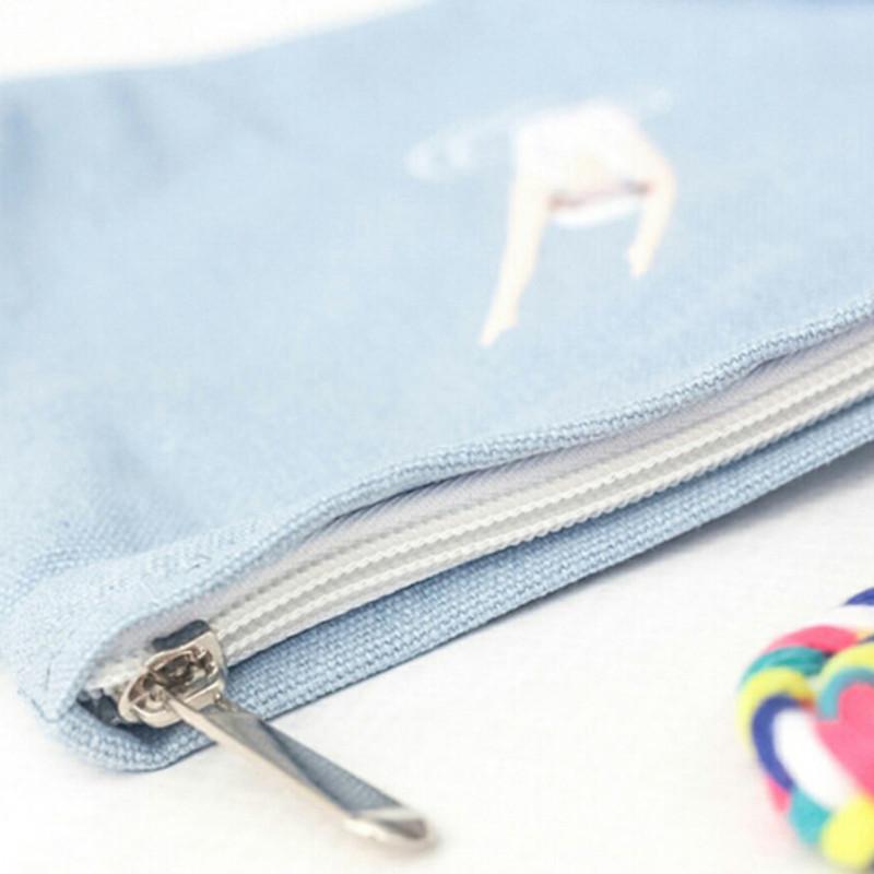 Cheap Summer Lovely women messenger bags Embroidery Canvas Cartoon Crossbody Shoulder Bags Small Female Handbags coin purse