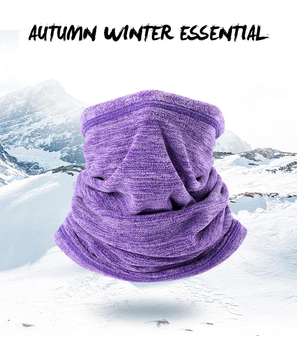 2019 Winter Cycling Neck Warmer Ski Snowboard Outdoor Sport Face Mask Windproof Cycling Bandana Balaclava Scarf for Men Women (18)