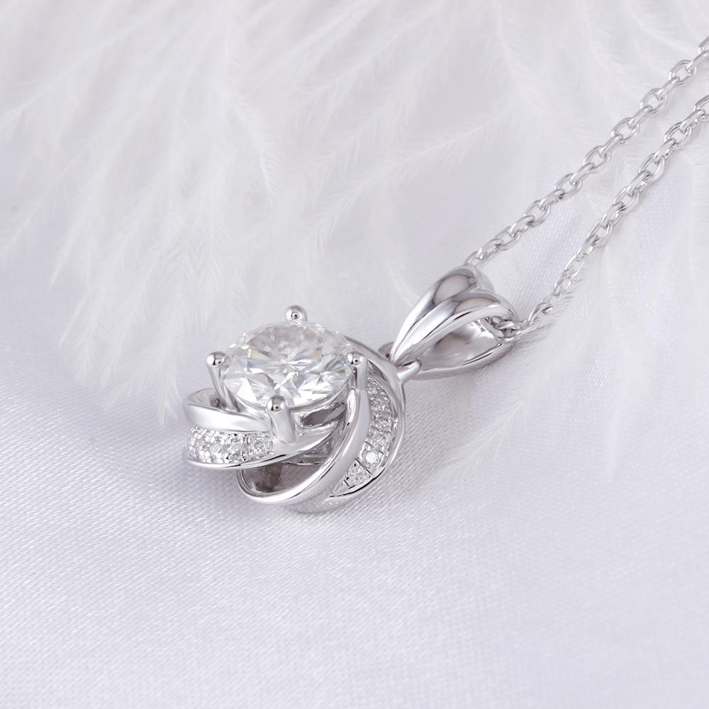 moissanite pendant silver (6)