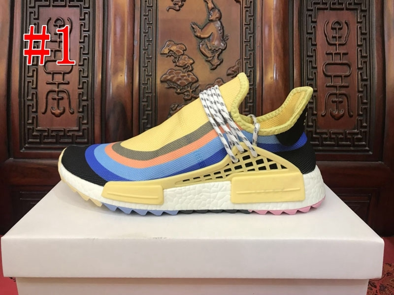 2019 New Human Race Runner Sean Wotherspoon Pharrell Williams HU Trail Holi Women Mens Running Shoes Trainers Brand Designer Sneakers