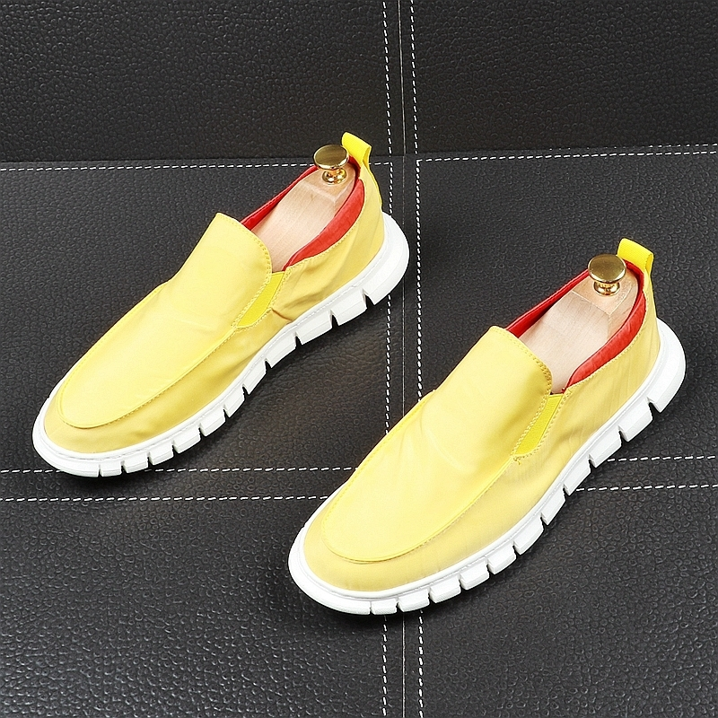 Memorable2019 Foot Set Summer Ventilation Canvas Shoe Soft Bottom Light Le Fuxie Youth All-match Shoes. Casual Shoes Male