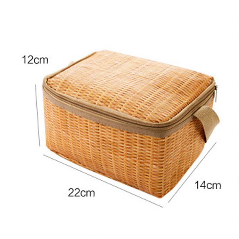 Portable Lunch Bags Insulated New Design Thermal Cooler Lunch Box Tote Storage Bag Picnic Container Food Picnic Bag Packet C18112801