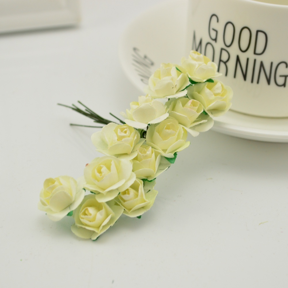 144pcs-1cm-cheap-Artificial-Paper-flowers-for-Wedding-car-fake-Roses-Used-For-decoration-Candy-box(16)