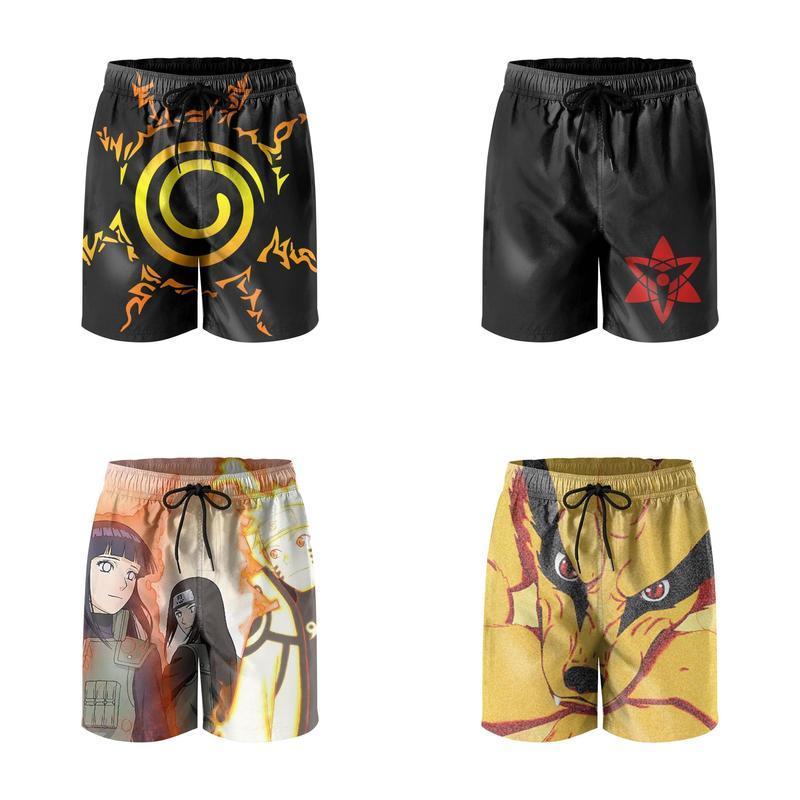 Black Cool Cat Avatar Mens Summer Beach Quick-Dry Surf Swim Trunks Boardshorts Cargo Pants