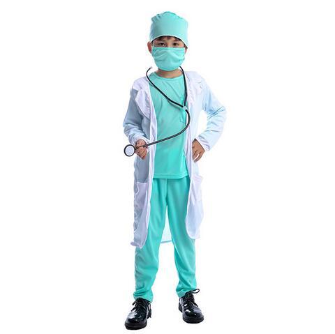 Gli adulti SCIENZIATO DOTTORE camice MEDICO OSPEDALE ESPERIMENTO Costume