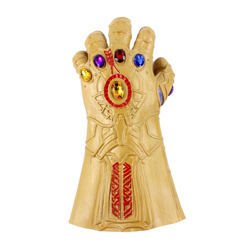 Avengers 3 tyrant mask COS Halloween movie Iron Man Sanos Latex smashing unlimited gloves9