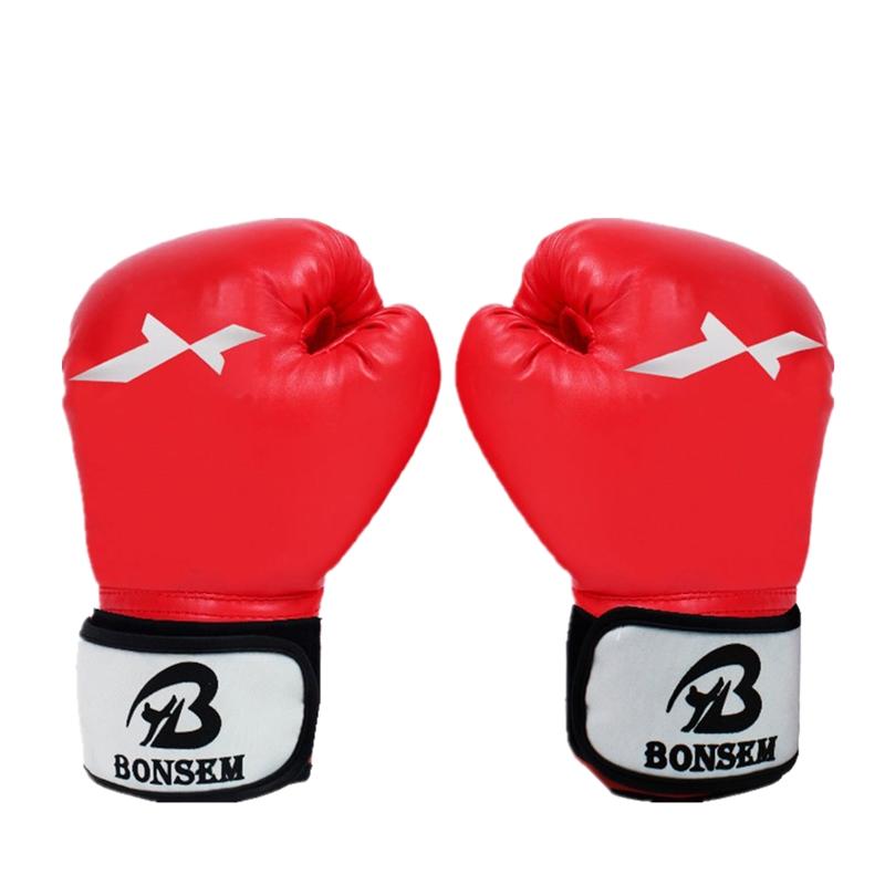 Vennisa Gants de Boxe Pattes dours Mitaines de Punch en PU Cuir Mitaines Boxe Entra/înement Muay Thai Kickboxing MMA Formation