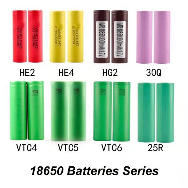 HG2 18650 Battery 2600mAh Rechargable Lithium Batteries LG Cells Fit Vapeboxmod