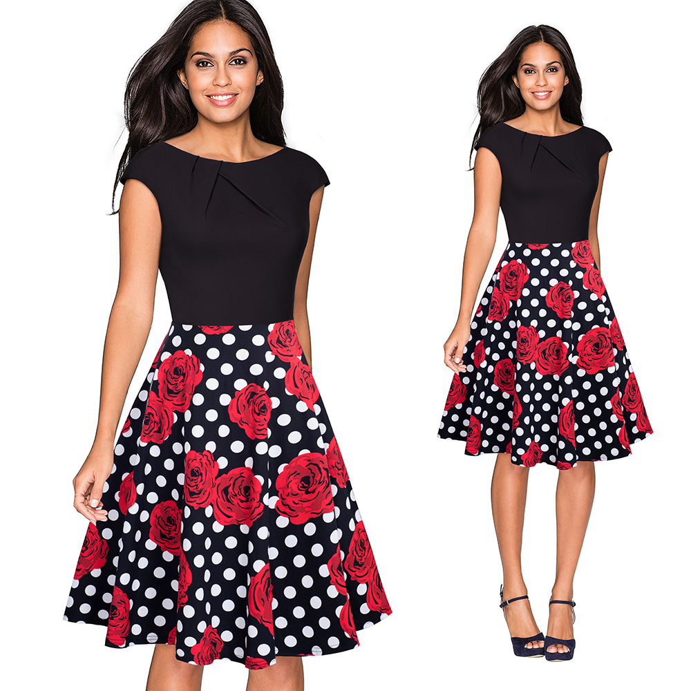 a067 dots and floral