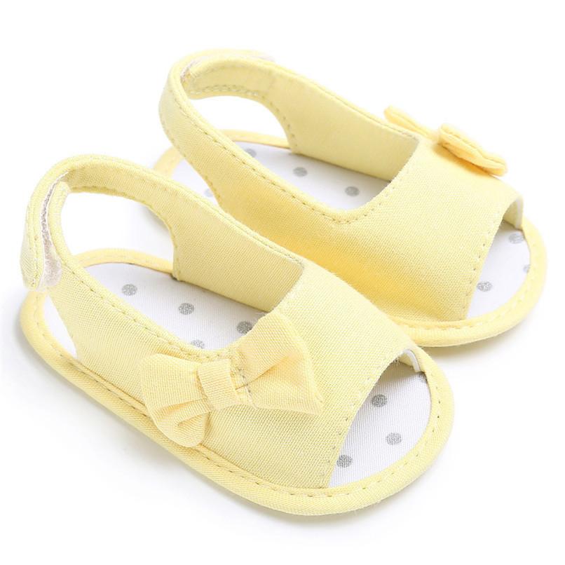 Summer Baby Shoes Newborn Toddler Baby Girl Soft Sole Bowknot First Walker Crib Prewalker Shoes NDA84L24 (16)