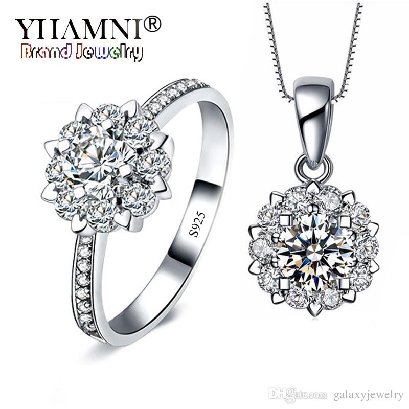 Wedding Bridal Jewellery S925 CZ silver Set  Handmade in England