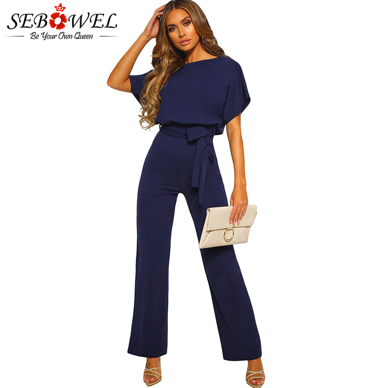 Blue-Oh-So-Glam-Belted-Wide-Leg-Jumpsuit-LC64520-5-1
